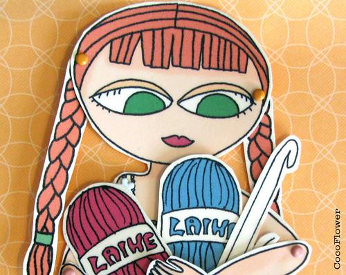 Paper doll crochet