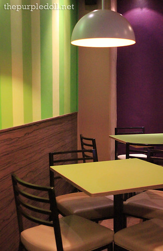 Brew-Kus Dining Area