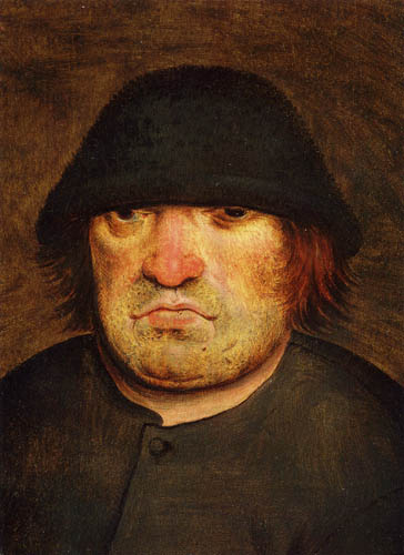 Pieter Brueghel the Younger - Portrait of a farmer by trudeau