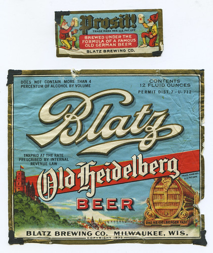 Blatz Old Heidelberg Beer by jericl cat