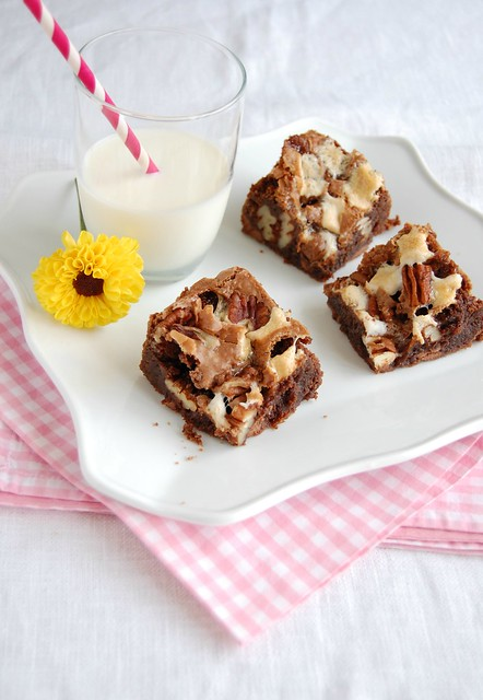 Rocky road brownies / Brownies rocky road