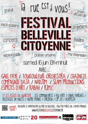 Festival Belleville citoyenne by Pegasus & Co