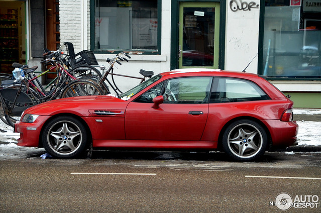 S54B32 M Coupe | Imola Red | Black