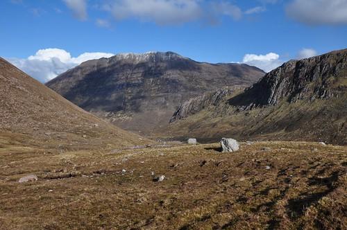 Beinn a' Chlaidheimh from Gleann na Muice Beag