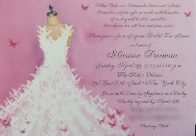 Marissa's Shower Invitation