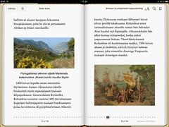 Ihmisen ja ympäristön käännekohtia -kirjan sisällöstä kuva