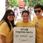 KLRU inspires me to... get involved and dream.