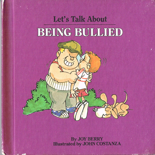Cover to Let's Talk About Being Bullied