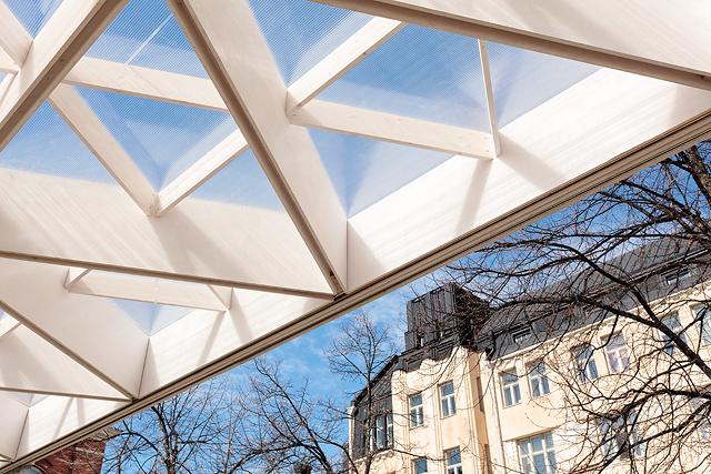WDC 2012 paviljonki Helsingissä