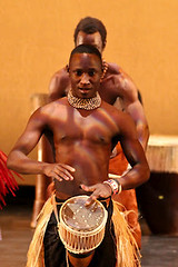 barechestedness, muscle, bodybuilder, physical fitness, hand drum,