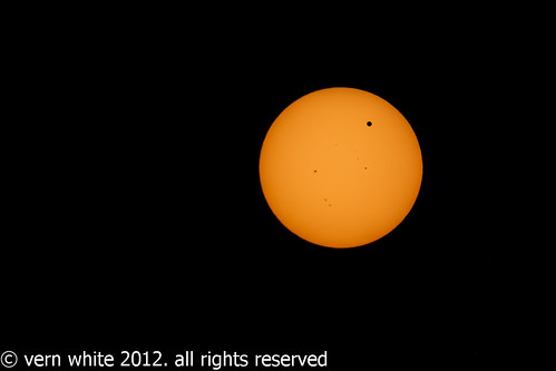 venus in transit across the sun