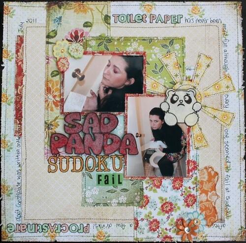 Sad Panda - Sudoku Fail
