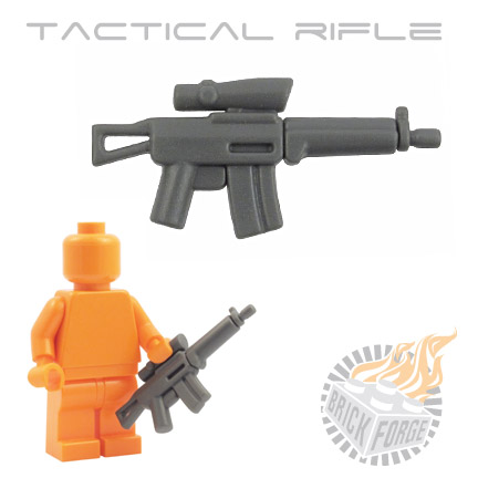 Tactical Assault Rifle - Dark Blueish Gray