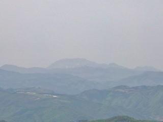 大山が見える