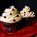 Devilish Cookie Dough Cupcakes