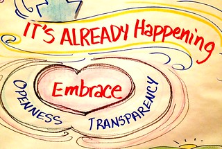 Openness and Transparency - more important than ever.
