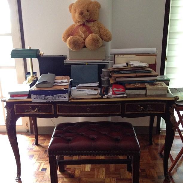 Zsazsa's desk