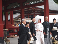 Some random wedding at Kamakura Hachimangu