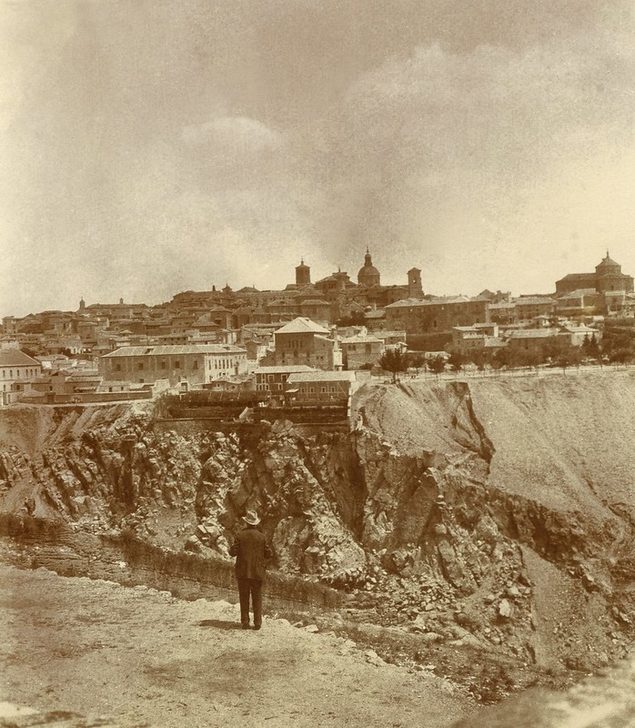 Vista de Toledo desde el cerro de la Ermita de la Cabeza hacia 1905 © Album / adoc-photos / Photographe amateur