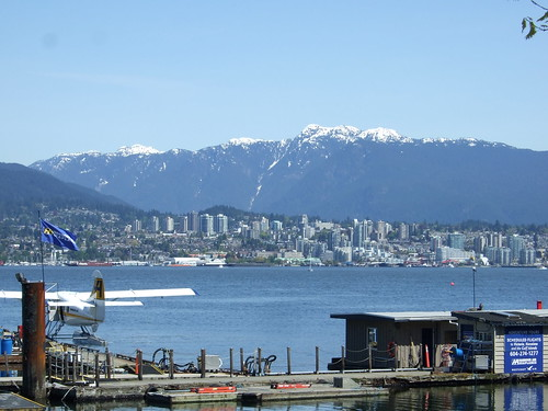 North Shore Mountains From Stanley Park