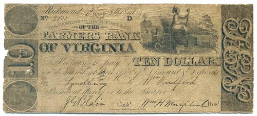 Farmer's Bank of VA note 2