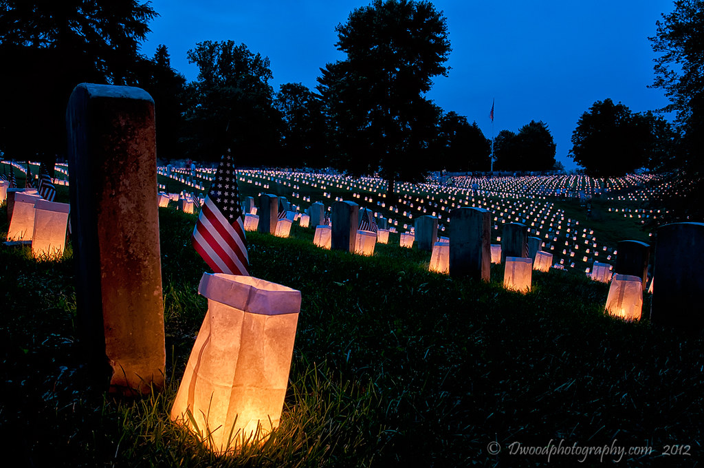National Cemetery Luminaria