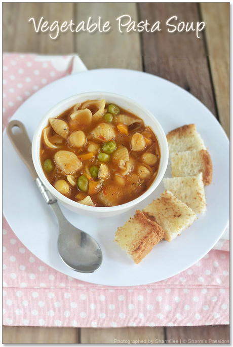 Vegetable Pasta Soup Recipe