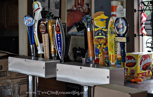Tap Beers at Tally's Dockside ~ White Bear Lake, MN
