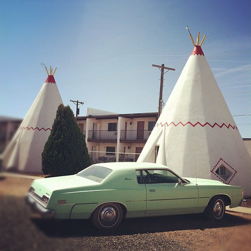 Wigwam motel in Holbrook, AZ on route 66
