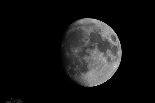 Tonights Moon over Hamburg - Fuji X-Pro 1