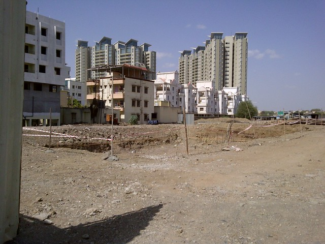 Site of Vascon Ela - 2 BHK 2.5 BHK Flats opposite Suzlon One Earth at Sade-Satara-Nali (Sade-Satra-Nali) Gram Panchayat, Hadapsar, Pune 411028