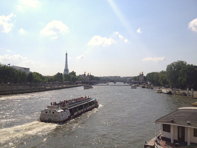 The Seine from Pont Concorde