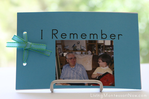 """I Remember"" Book"