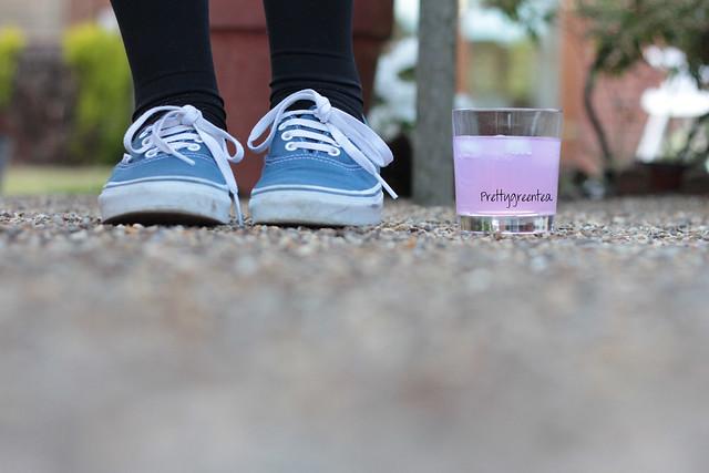 Prettygreentea pink drink