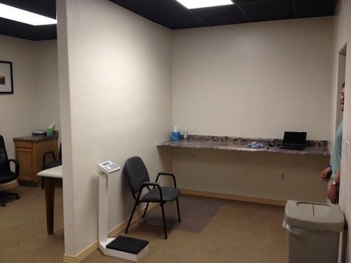 work space/exam room