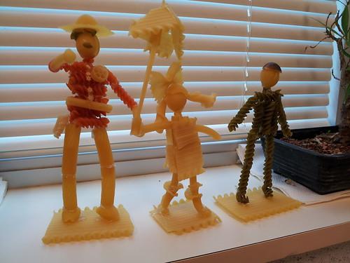 Pasta Statues