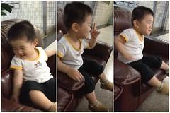 ロビーのソファーに座る (2012/6/9)