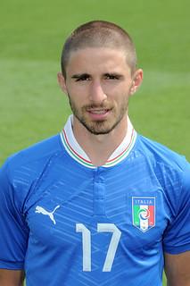 Fabio Borini Italy Euro 2012 Headshots