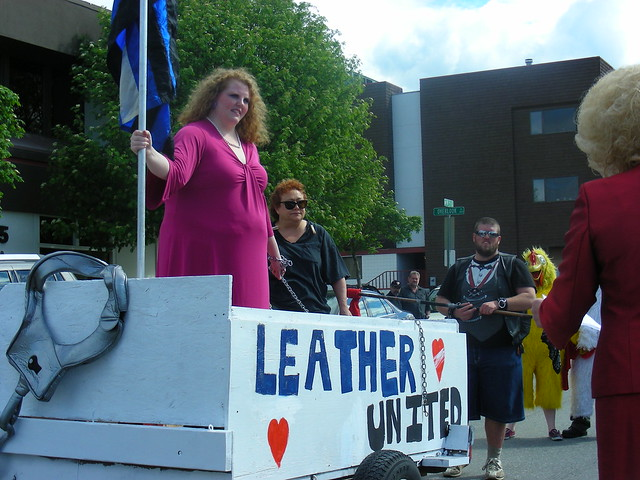 Leather United: Northern Exposure float in 2012 Anchorage Pride parade