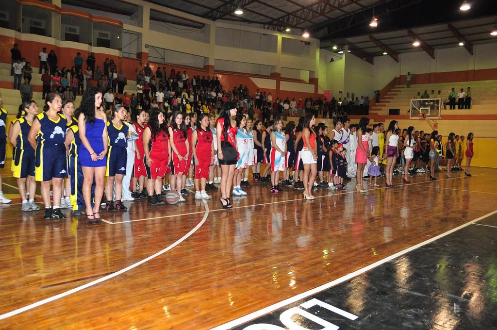 Inauguraci\xf3n del Campeonato Cantonal de Basquet 2012