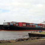 Santa Elena under the wires at the Yarra river 27.5.12