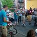 Me giving a speech at Cargo Bike Roll Call, June 2012 by Steven Vance
