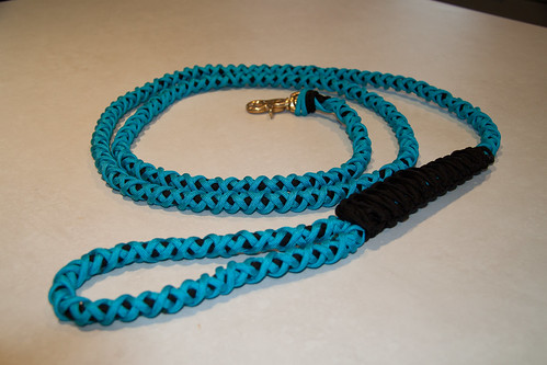 Dog lead extra heavy duty by Allknotted