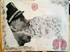 Moleskine collage #1