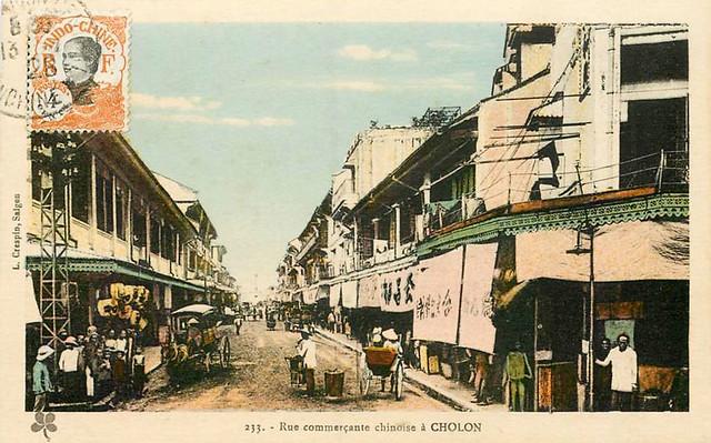 CHOLON - Rue commerçante chinoise