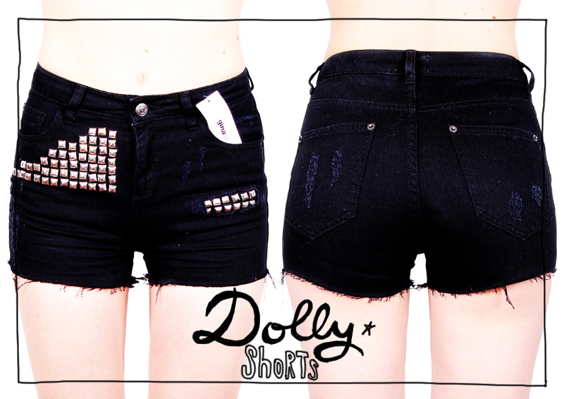 dolly shorts-typo