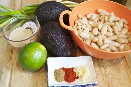 avocado bean dip 1