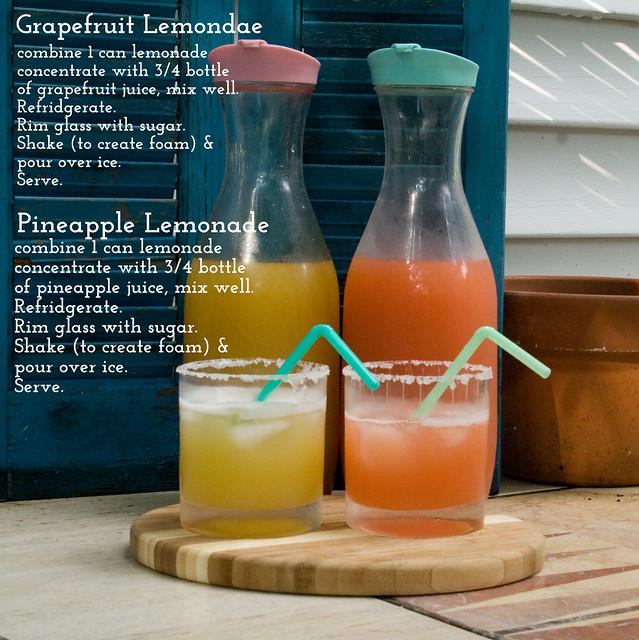DIY Grapefruit Lemonade Recipe