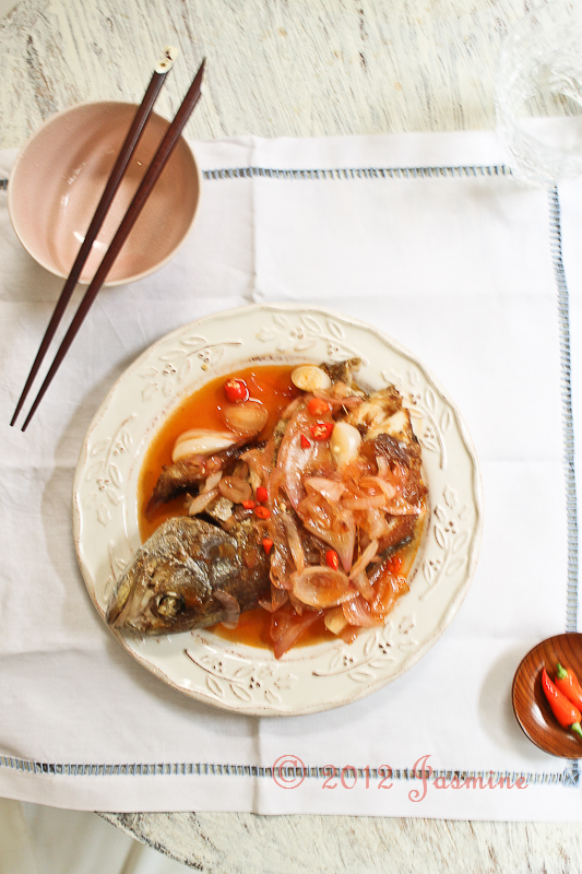 Chinese Sweet and Sour Fish