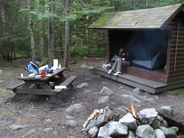 Roaring Brook lean-to | Flickr - Photo Sharing!